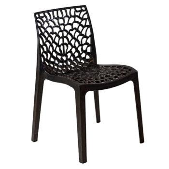 Cadeira Rendada Preta