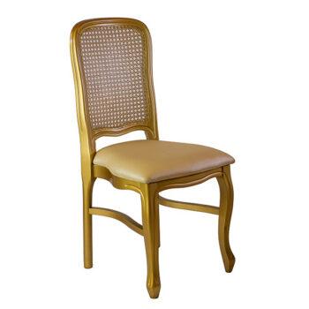 Cadeira Imperial Dourada
